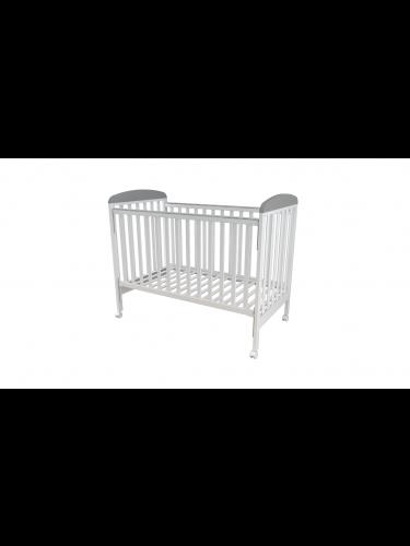 מיטה דגם 2055 לבן אפור