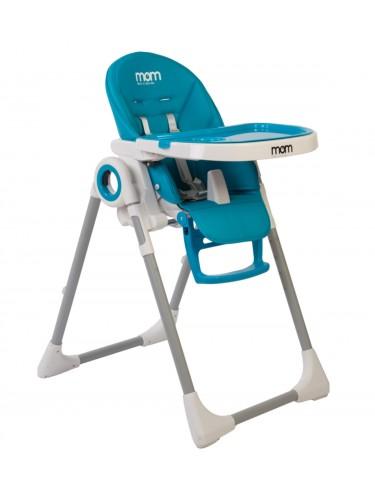 כסא אוכל Q1 ריפוד כחול שמים