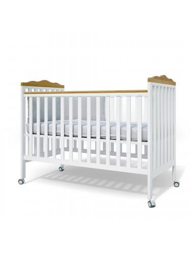 מיטת תינוק דגם 2007 לבן טבעי