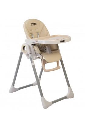 כסא אוכל MOM דגם star בז'